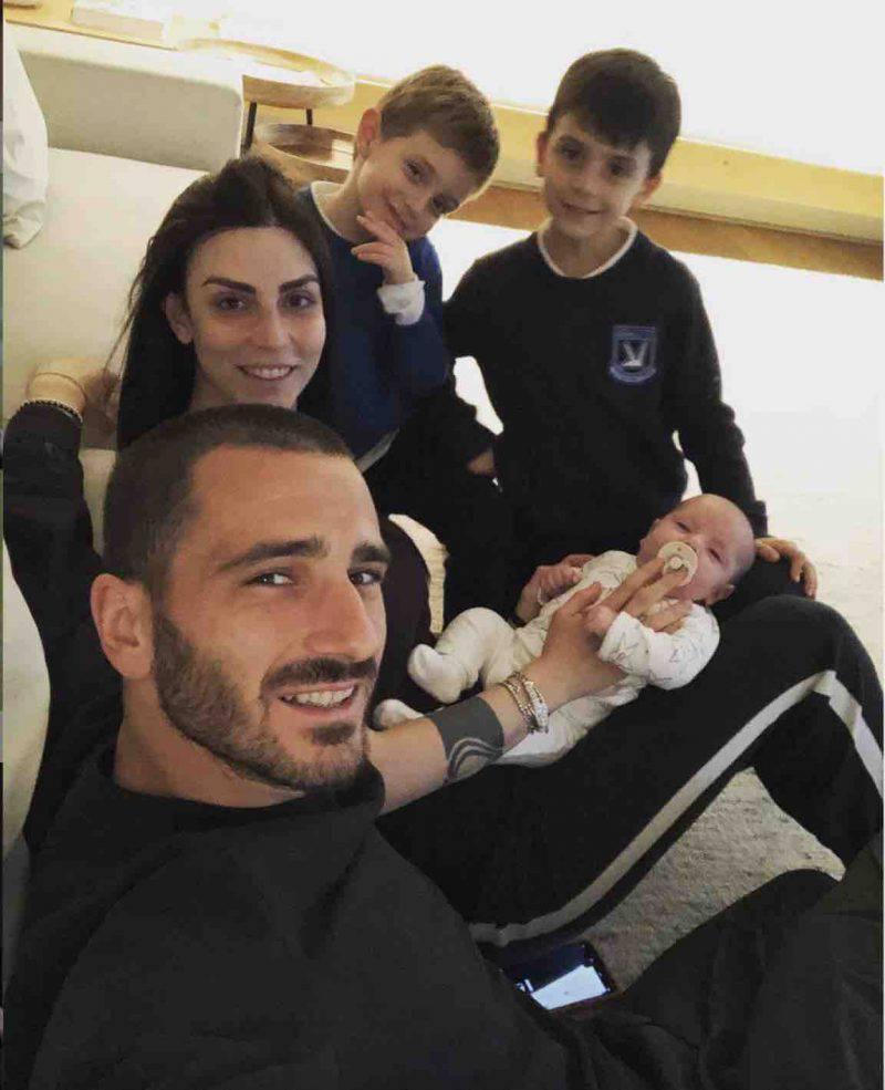 Leonardo Bonucci figli moglie