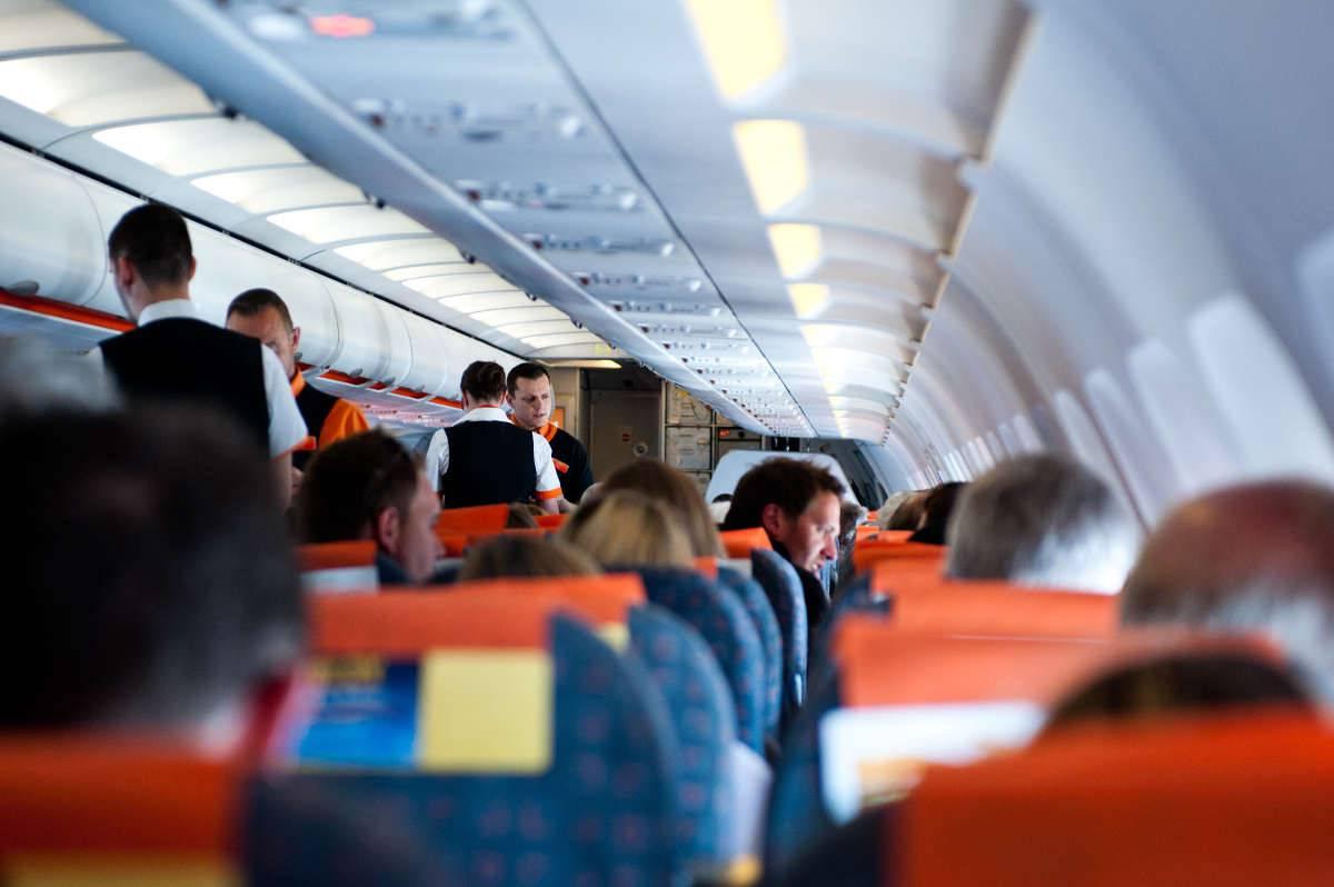 paura sul volo easy jet