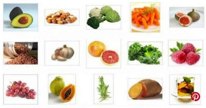 Alimenti per dieta del gruppo sanguigno A