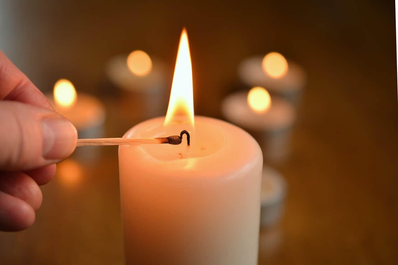 fai da te porta candele