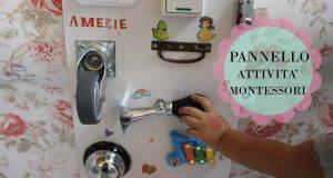 Pannello sensoriale montessoriano, cosa è e come realizzarlo a mano