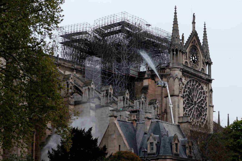 Notre Dame il giorno dopo