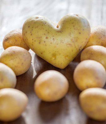 patata rimedio di bellezza
