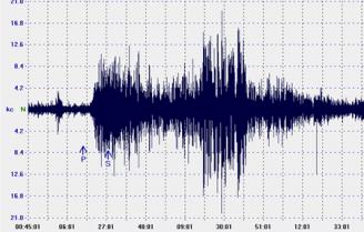 Forte scossa di terremoto nel Mar Mediterraneo VIDEO