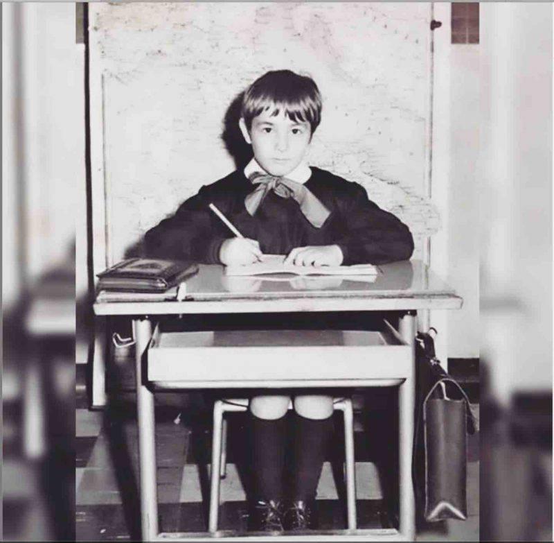 Massimo Giletti bambino