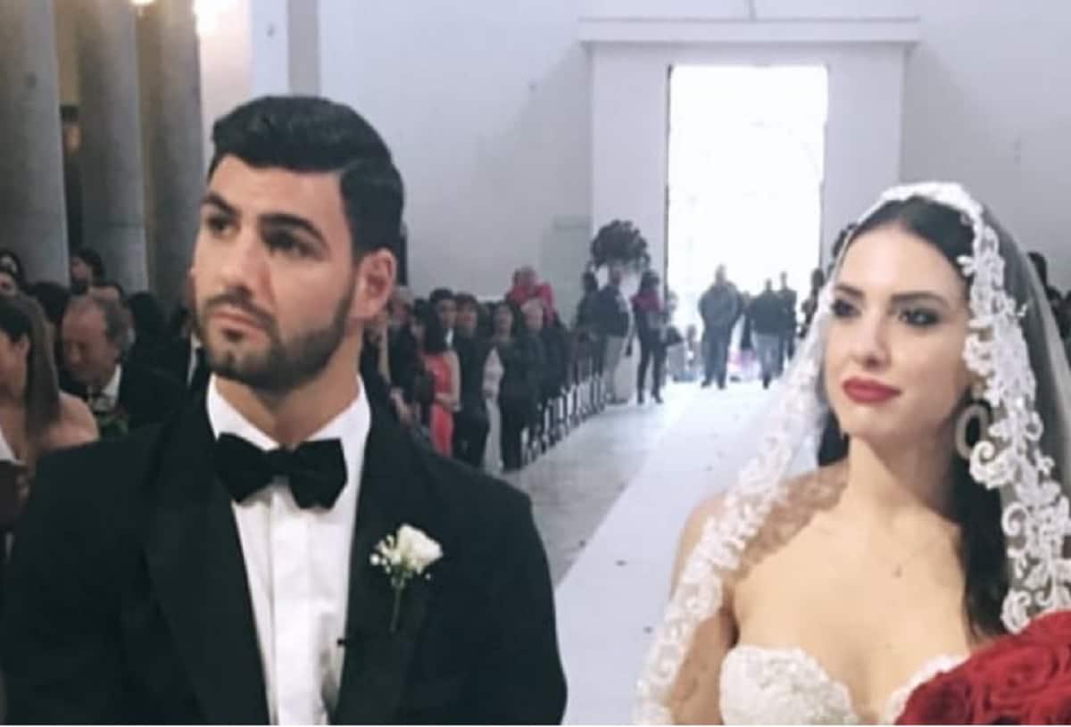 Clarissa Marchese e Federico Gregucci: foto abito da sposa
