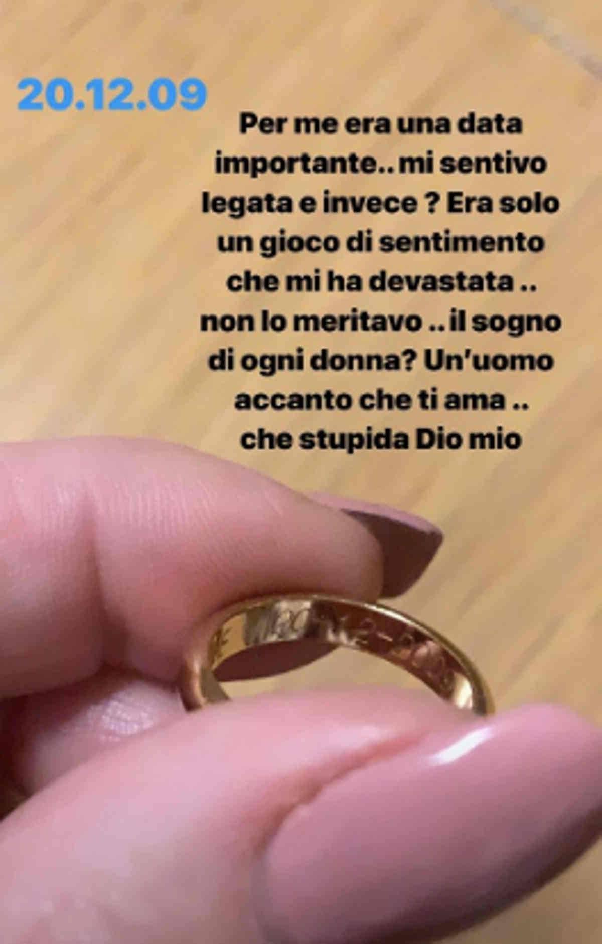Eliana Michelazzo anello