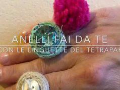 Riciclo creativo: come creare anelli con le linguette del tetrapak