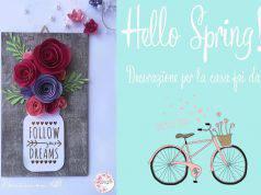 Diy: quadro fiorito per la primavera
