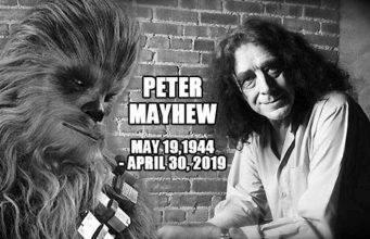 Addio a Peter Mayhew, il famoso Chewbecca di Star Wars – VIDEO