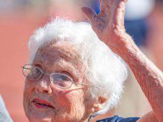 A 103 anni, questa nonna vince due nuove medaglie d'oro