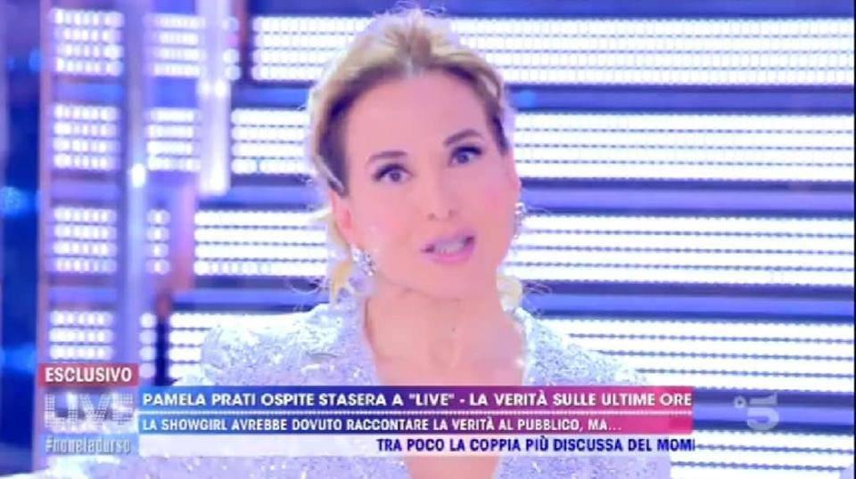 Barabara D'Urso, tutta la verità sull'assenza di Pamela Prati