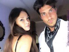 Martina Nasoni e Daniele Dal Moro. bacio