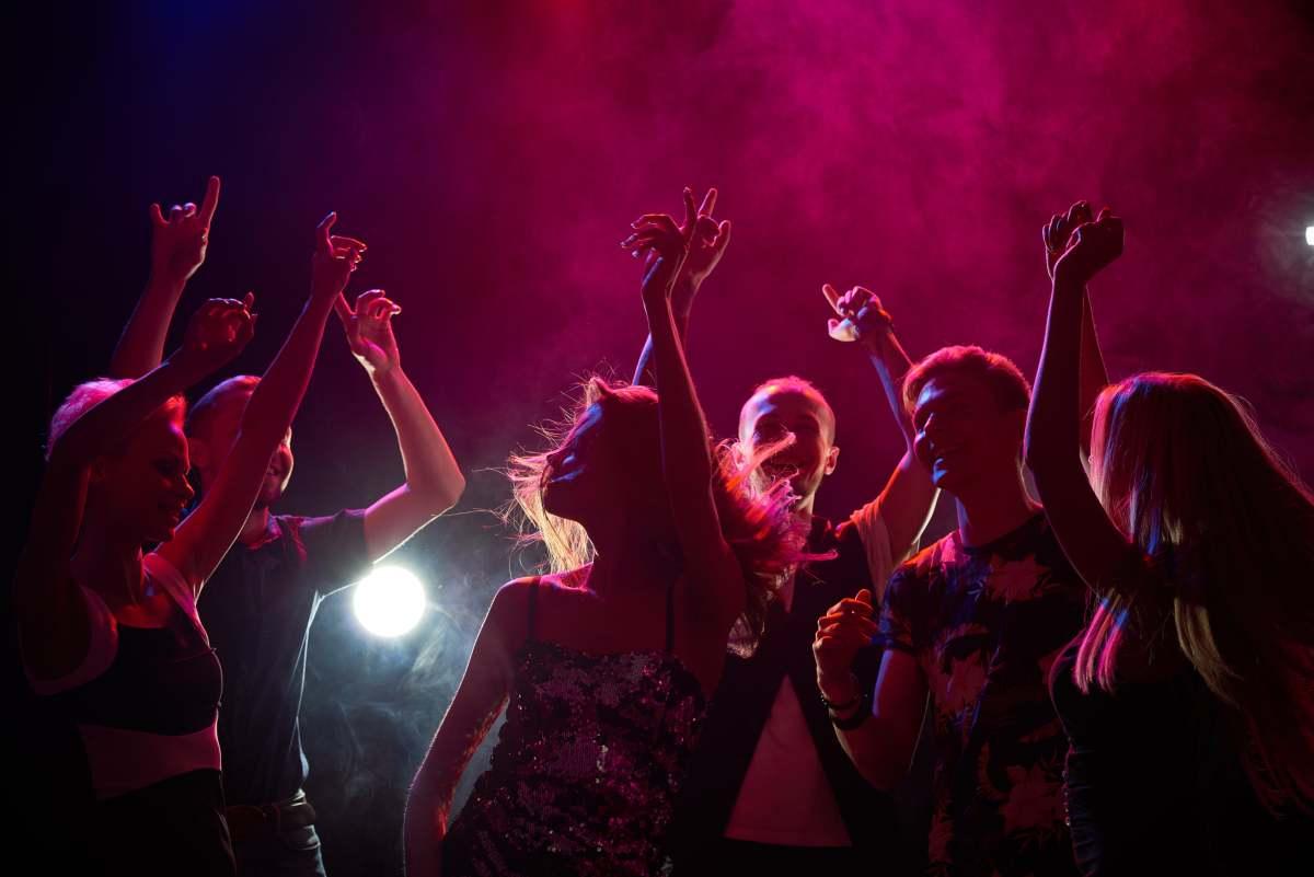 allenarsi in discoteca