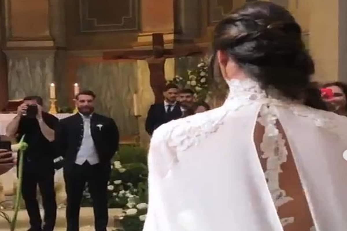 Lorella Boccia e Niccolò Presta finalmente sposi, ma non c'è Paola Perego