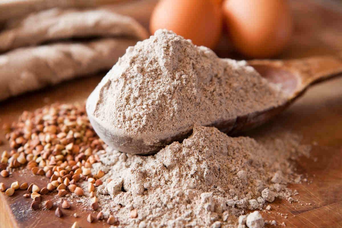 grano saraceno farina