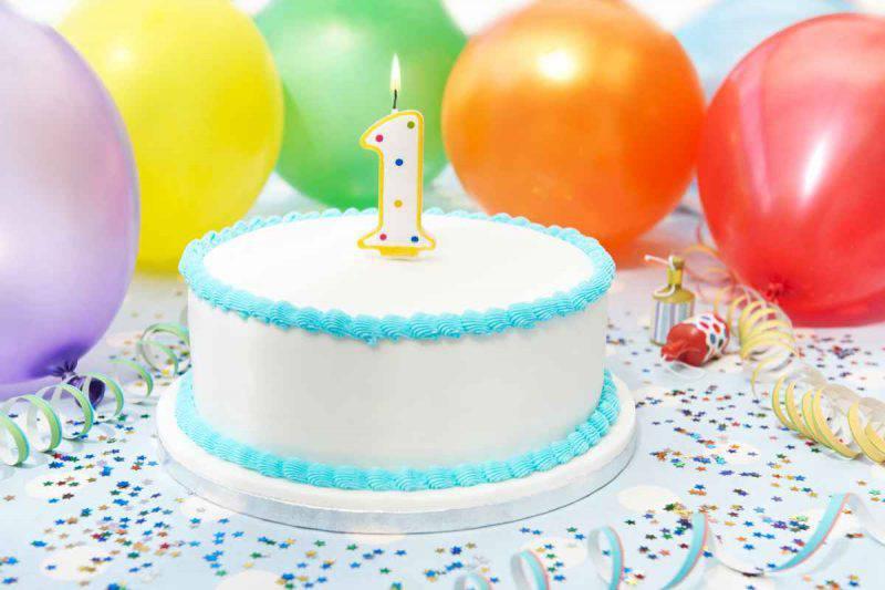 torta compleanno bebè