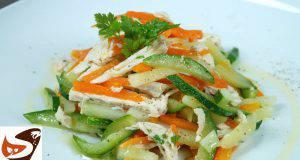 Menu di Agosto: insalata di pollo leggera