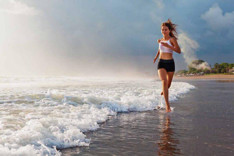 tonificazione muscoli mare