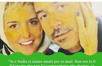 """Nadia Toffa, il suo ex fidanzato: """"Ho raccolto il suo ultimo desiderio""""-VIDEO"""
