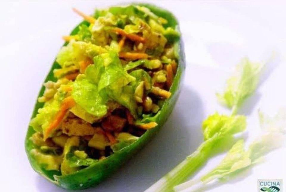 Menu di Agosto: insalata proteica vegana