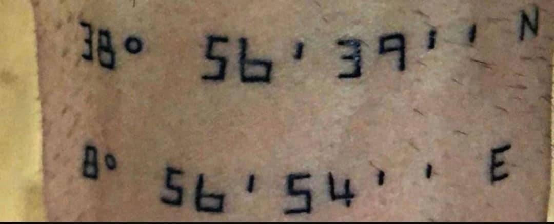 massinmo colantoni tatuaggio