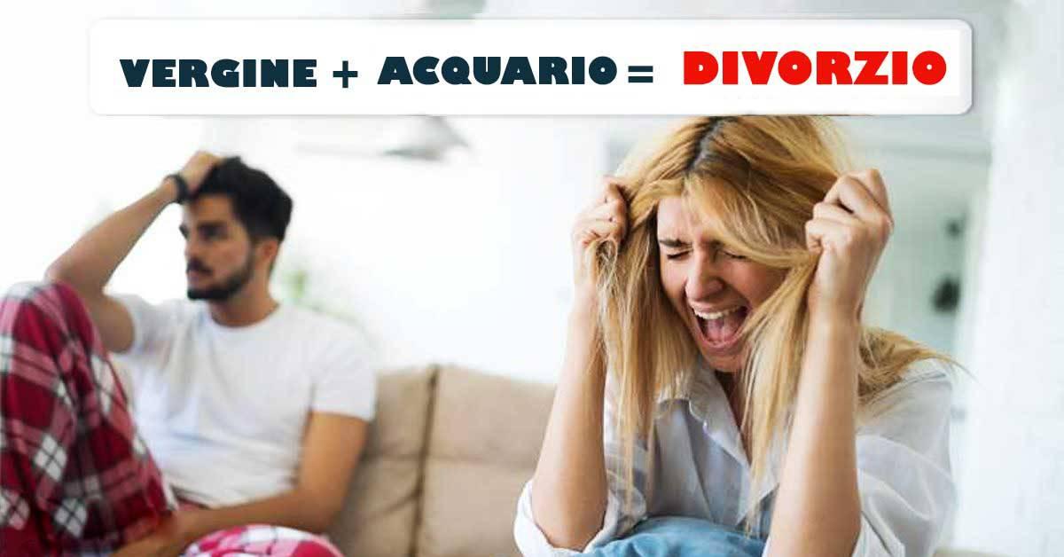 Astrologia: le 6 coppie dello zodiaco destinate a divorziare