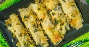 Menu di Agosto: cannelloni di pane Carasau e salmone