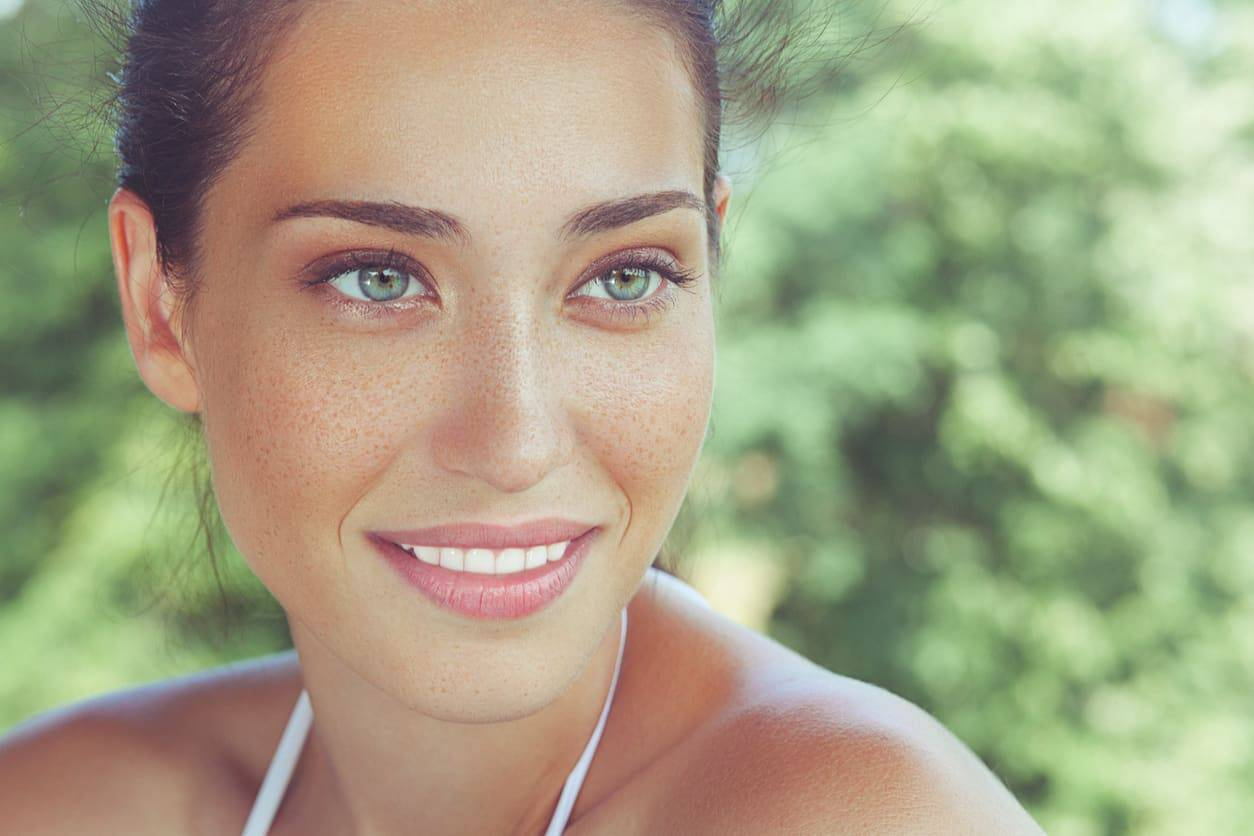 makeup baciata dal sole