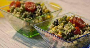 menu di agosto: insalata di farro