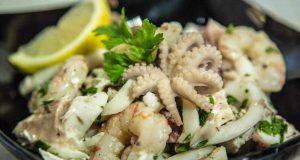 Menu di Agosto: l'insalata di mare