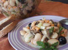 Menu di agosto: insalata di fagioli