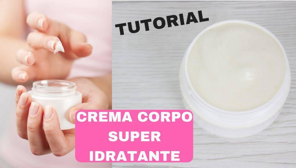 crema corpo fai da te superidratante