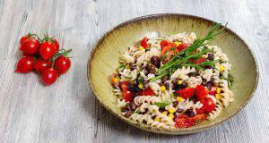 menu di agosto: pasta e fagioli estiva