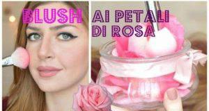 Blush ai petali di rosa fai da te-video-