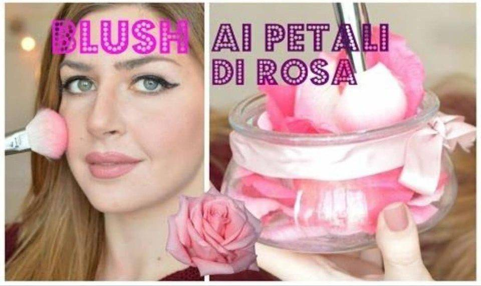 Blush ai petali di rosa fai da te-video-