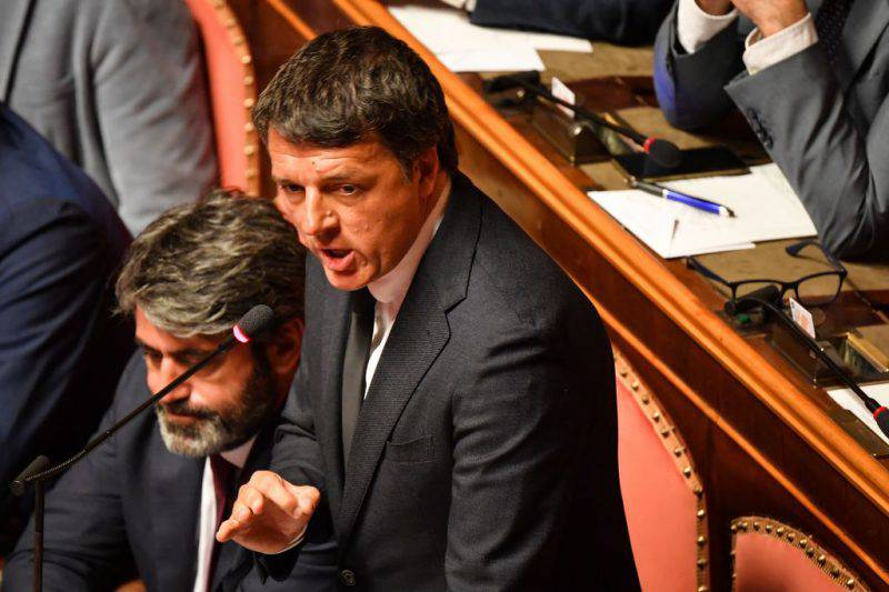 Matteo Renzi, diatriba a distanza con il Premier Conte (Getty Images)