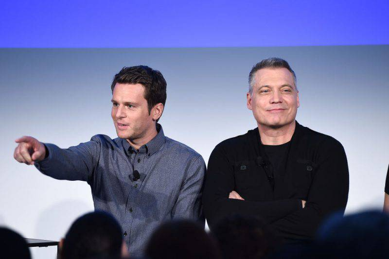 "Jonathan Groff e Holt McCallany, protagonisti di ""Mindhunter"" (Getty Images)"