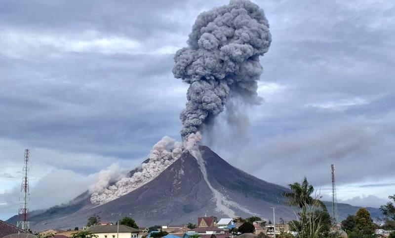 Vulcano Sinabung, Sumatra