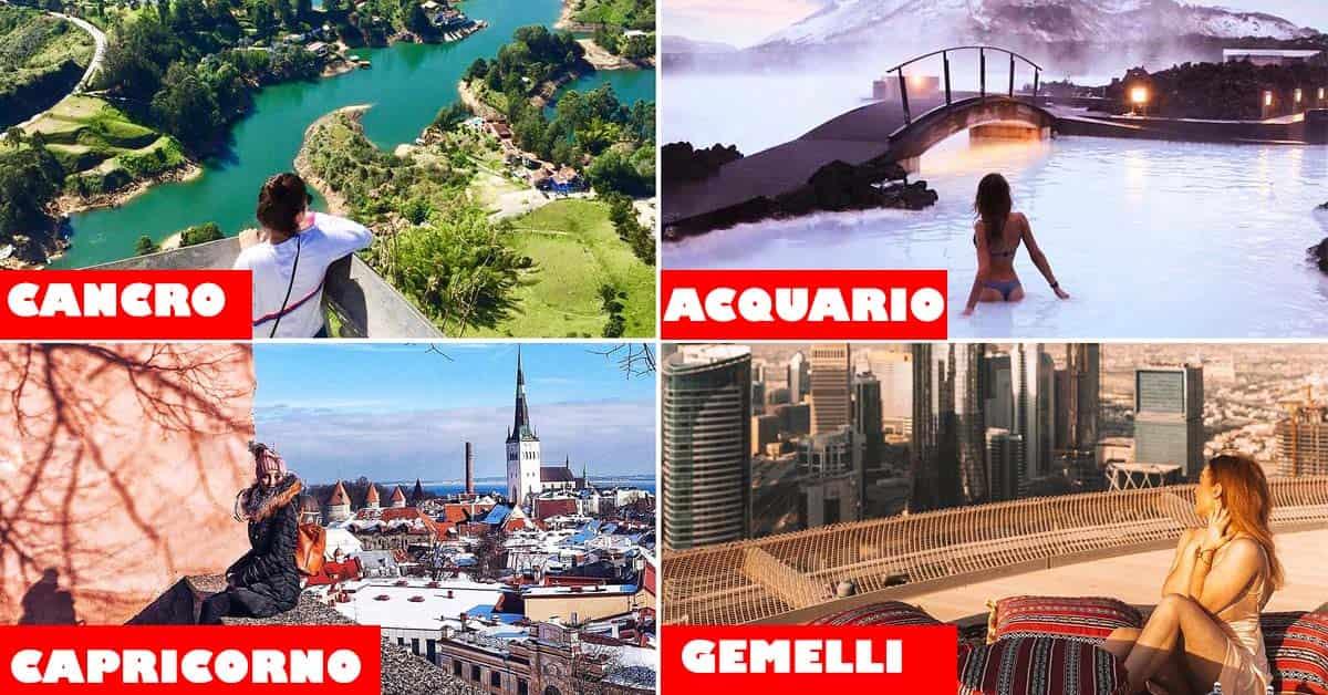 Astrologia: la città ideale in cui dovresti vivere in base al tuo segno zodiacale