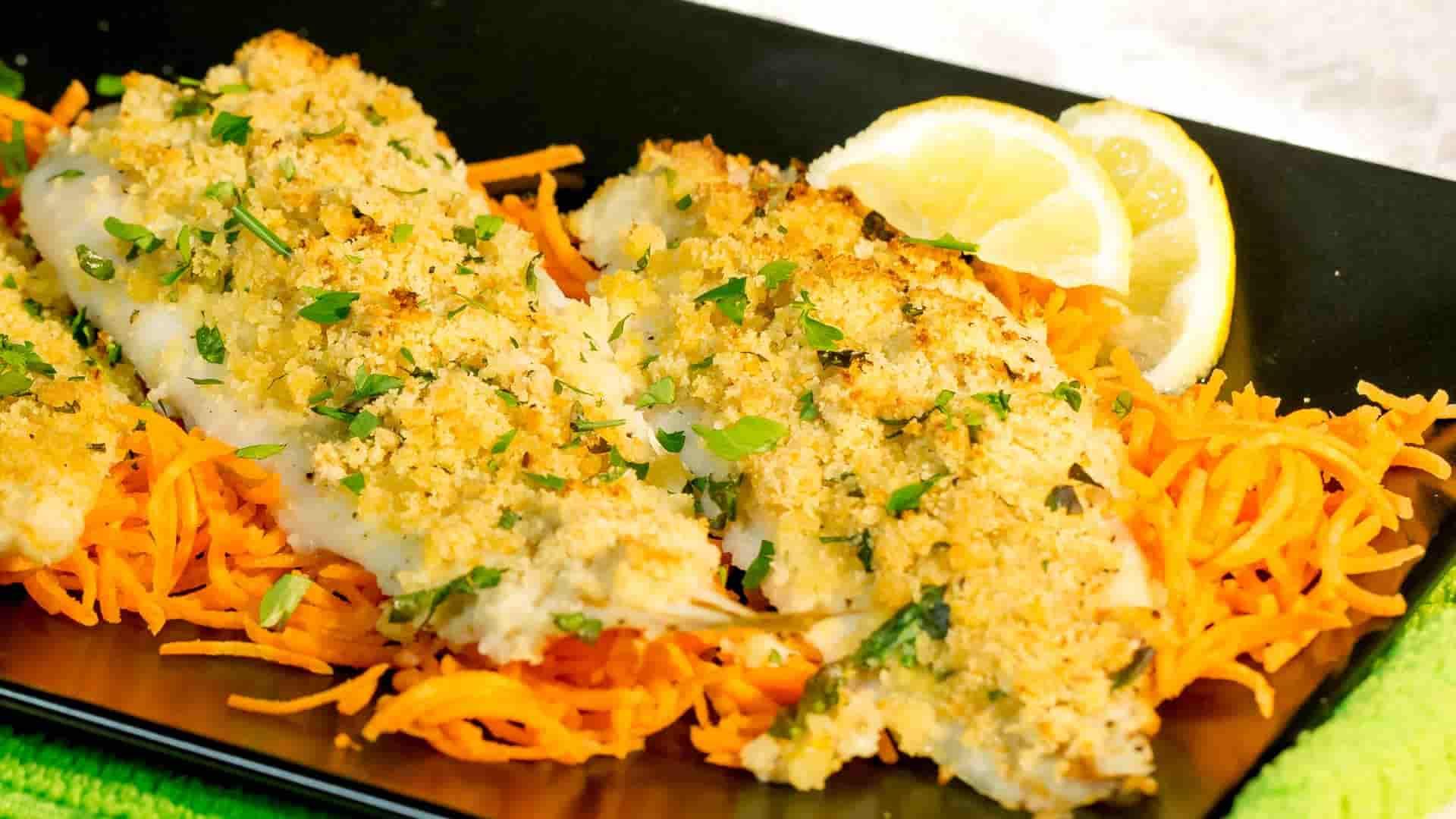 Cucina sana: filetti di merluzzo gratinati al forno