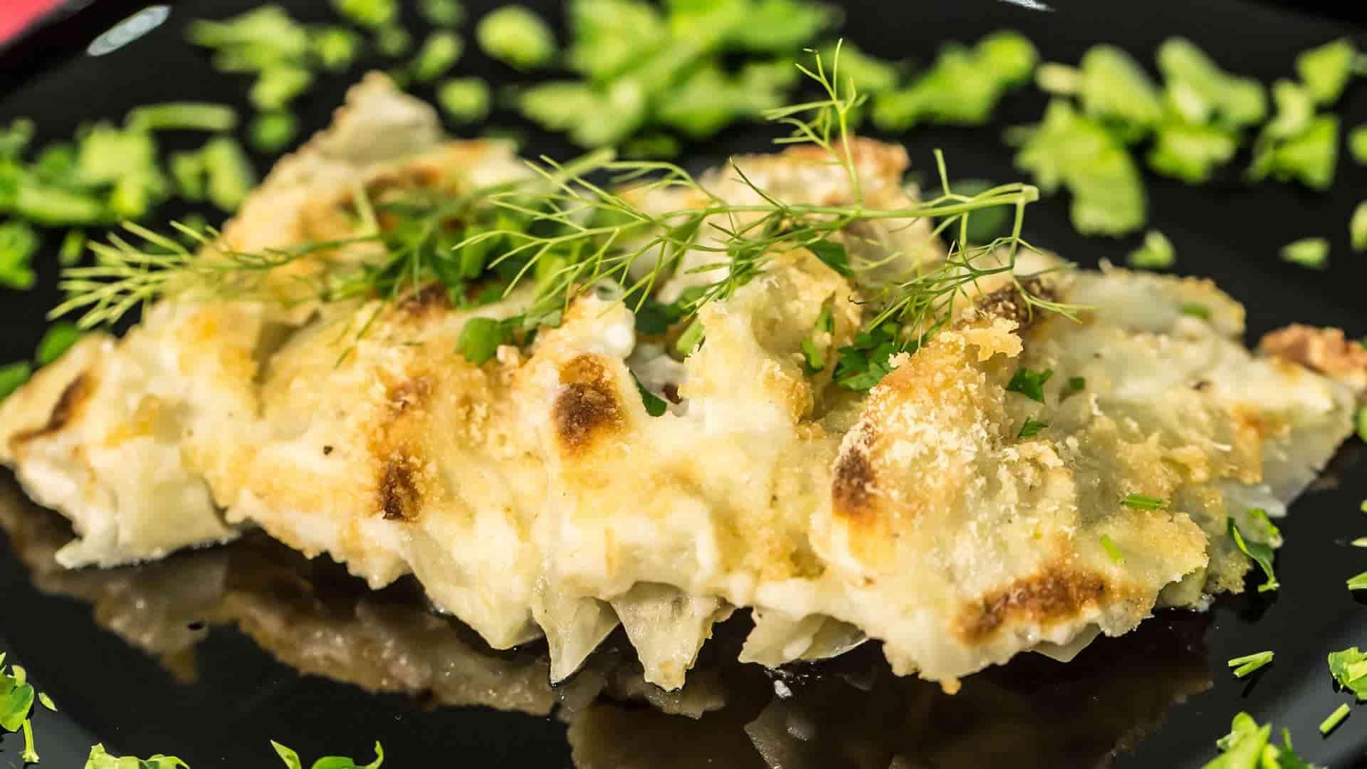 finocchi gratinati ligth ricetta