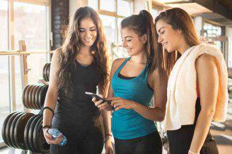 Fitness e social