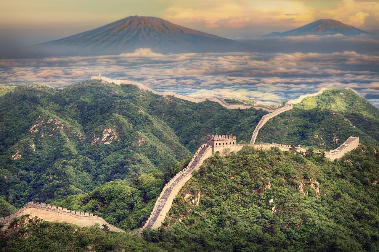 la muraglia cinese tra le 7 meraviglie del mondo