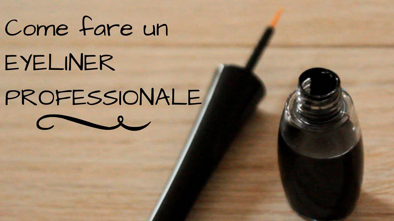 Come fare un eyeliner naturale