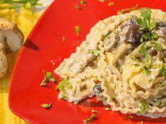 Cucina sana: pasta alla boscaiola light-video-