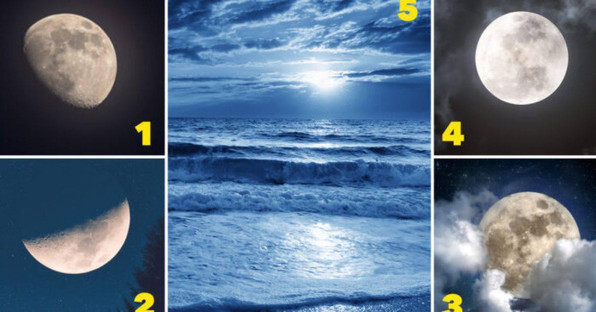 Test psicologico: la luna che preferisci descrive la tua vera personalità