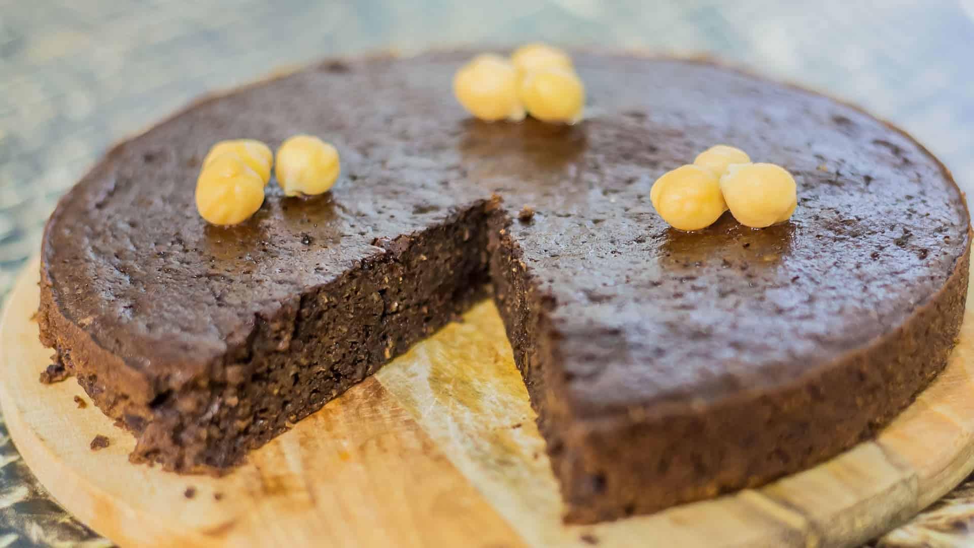 Cucina sana: torta ceci e cioccolato