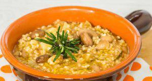 Cucina sana: zuppa di miglio e fagioli