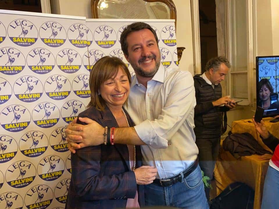 Elezioni Umbria trionfa il centro destra